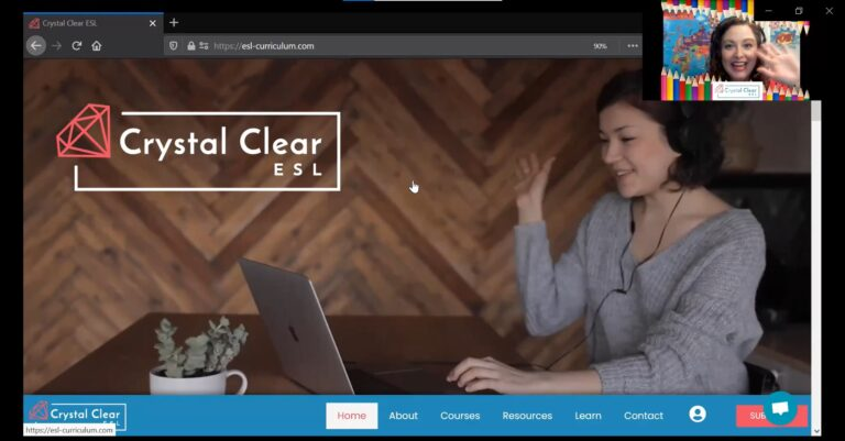 Introduction to the Crystal Clear ESL platform – a tutorial