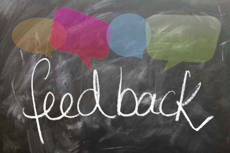 Student Feedback – examples