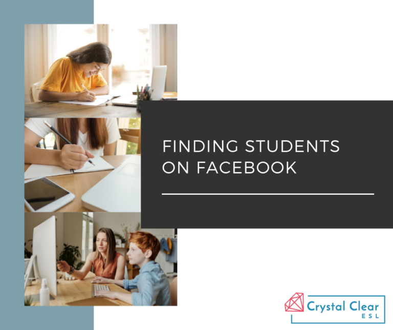 How to Find ESL Students Using Facebook Organic Marketing