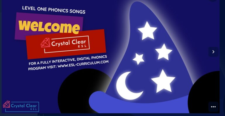 Level One Phonics Songs