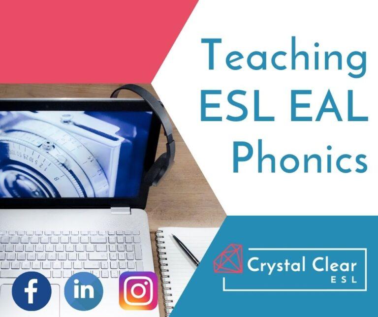Teaching ESL Phonics